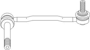 stang, stabilisator, Framaksel, Framaksel høyre, Høyre