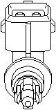 Sender Unit, intake air temperature, Intake manifold