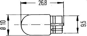 Glödlampa, parkeringsljus, Bak, Fram, Fram eller bak, Baklucka, Nedre, Sidoinstallation, Fotutrymme