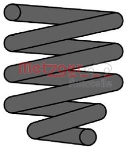 Forstærket spiralfjeder, Bagaksel