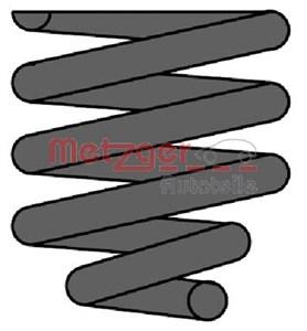 Reservdel:Mercedes Ml 270 Spiralfjäder, Bakaxel