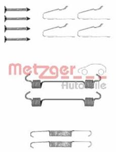 Reservdel:Mercedes Ml 270 Tillbehörssats, bromsbackar, parkeringsbroms, Bak