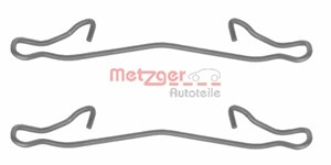 Accessory Kit, disc brake pads, Front, Rear