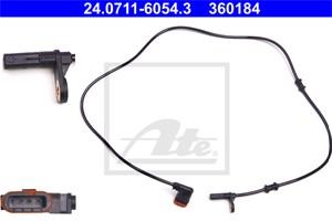 ABS-givare, Sensor, hjulvarvtal, Bak, vänster, Vänster bak