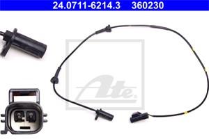 Sensor, wheel speed, Front axle, Front axle left, Left front, Left
