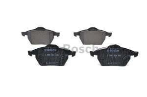 Brake Pad Set, disc brake, Front axle