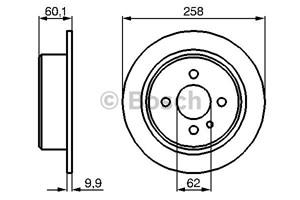 Brake Disc, Rear, Rear axle