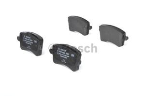 Brake Pad Set, disc brake, Rear