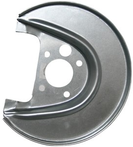 Brake Backing Plate, Right rear