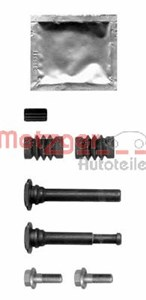 Guide Bolt, brake caliper, Front, Rear