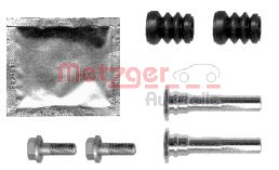 Guide Bolt, brake caliper, Front