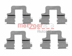Accessory Kit, disc brake pads, Rear