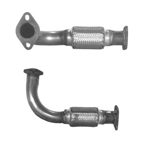 Flexrör, avgassystem, Foran