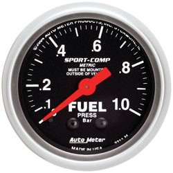 Bränsletrycksmätare, Universal