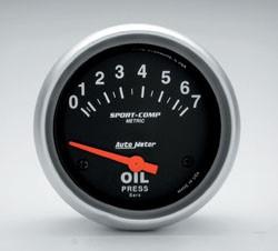 Oljetrykksmåler, Universal