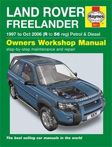 Haynes Reparationshandbok, Land Rover Freelander, Universal