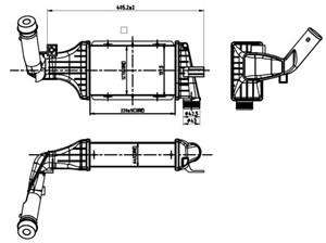 Reservdel:Opel Zafira Intercooler