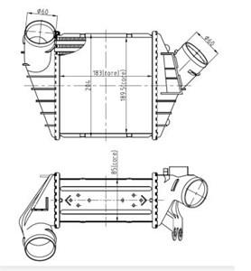 Reservdel:Volkswagen Beetle Intercooler