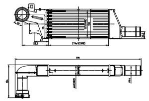 Reservdel:Opel Combo Intercooler