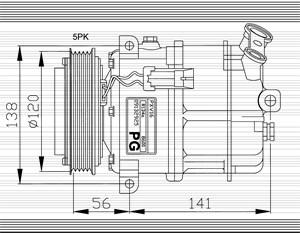 Air conditioner ac compressor condenser pressure senders hose compressor air conditioner asfbconference2016 Images