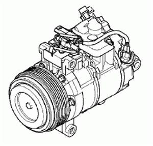 Reservdel:Bmw 316 Kompressor, klimatanläggning