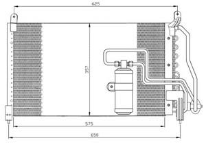 Bildel: Kondensor, klimatanläggning
