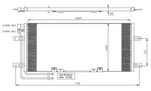 Reservdel:Volkswagen Transport Kondensor, klimatanläggning