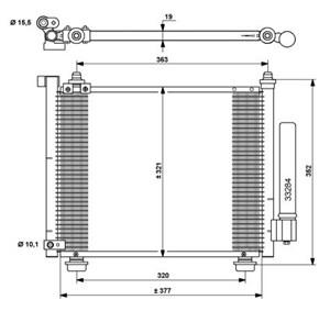 Reservdel:Suzuki Wagon R+ Kondensor, klimatanläggning