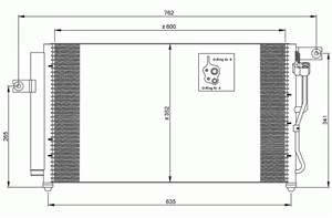 Kondensator, klimaanlegg