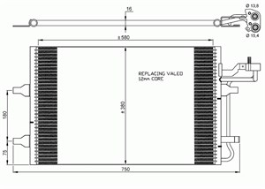 Kondensor, klimatanläggning
