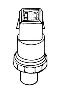 Reservdel:Audi A8 Tryckswitch, klimatanläggning