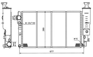 Reservdel:Citroen Bx Kylare, motorkylning
