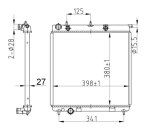 Reservdel:Citroen C3 Kylare, motorkylning