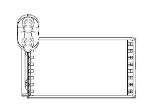 Reservdel:Seat Alhambra Värmeväxlare, kupévärme