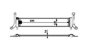 varaosat:Audi Q7 Jäähdytin, moottorinjäähdytys
