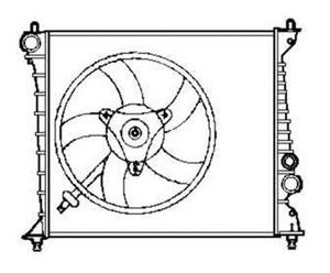 Reservdel:Audi A2 Kylare, motorkylning