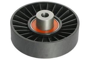 Medløberhjul, multi-V-rem, Midten