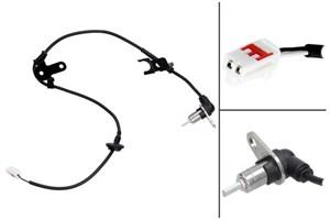 ABS Sensor, Bag, Bagaksel, Bagaksel venstre, Venstre