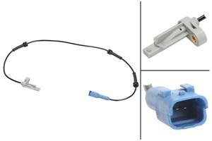 Sensor, hjulturtall, Høyre bakaksel, Venstre bakaksel
