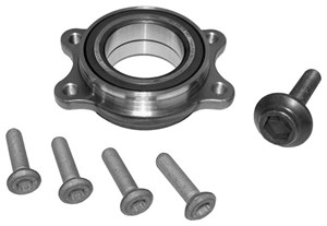 Wheel Bearing Kit, Front axle, Rear axle, Front or rear, Front, left or right, Rear, left or right, Left, Right