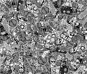 Stickerbomb, Universal