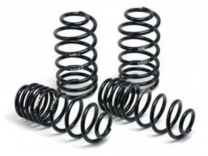 lowering springs, Front