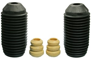 Dust Cover Kit, shock absorber, Front axle, Left, Right