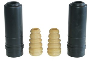 Dust Cover Kit, shock absorber, Rear axle, Left, Right