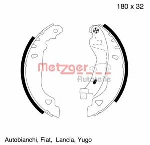 Reservdel:Fiat Tipo Bromsbackar, sats, Bak