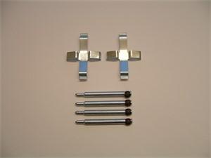 Accessory Kit, disc brake pads, Rear, Rear axle
