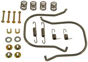 Accessory Kit, brake shoes, Rear, Rear axle