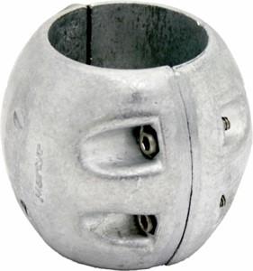 Anod axel dia-50mm Zn
