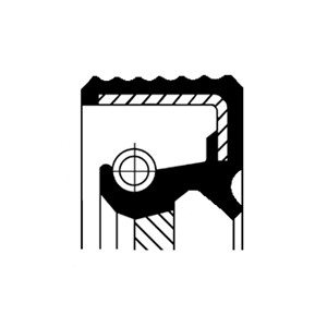 Akseltetningsring, differensial, Bakaksel, Venstre