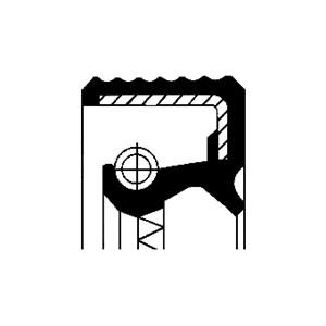 Akseltetningsring, differensial, Ytre, Høyre, Inngang, Utgang, Venstre